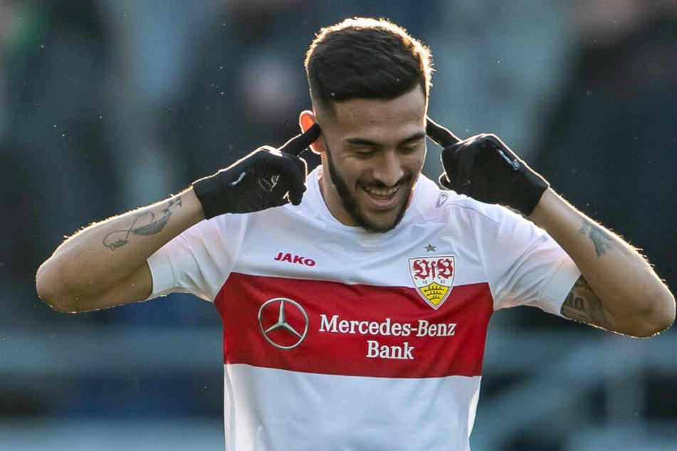 Nicolas Gonzalez glich für den VfB nur 12 Sekunden nach dem Anpfiff der zweiten Hälfte aus.