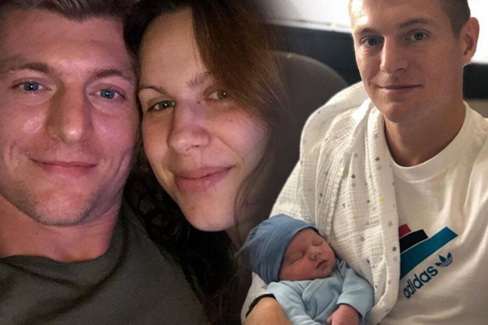 Toni Kroos und seine Frau Jessica sind erneut Eltern geworden.