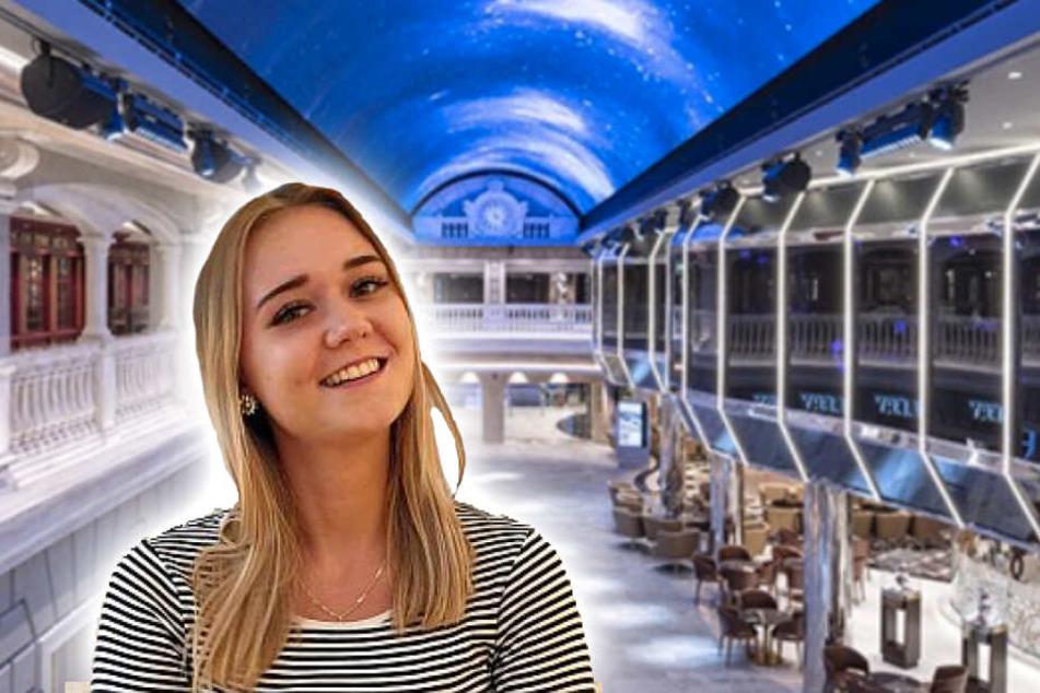 Die Reiseexpertin von SCHÖNE-REISEN Denise Müller (20) war bei der Taufe mit dabei.
