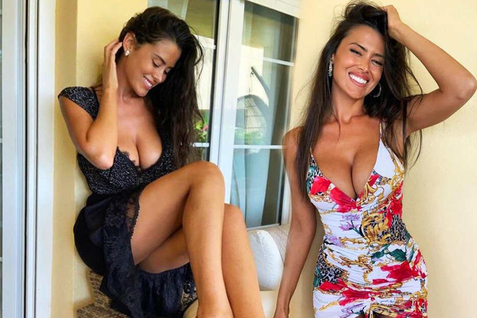Eva Padlocks Fans lieben ihr sympathisches Lächeln. (Bildmontage)