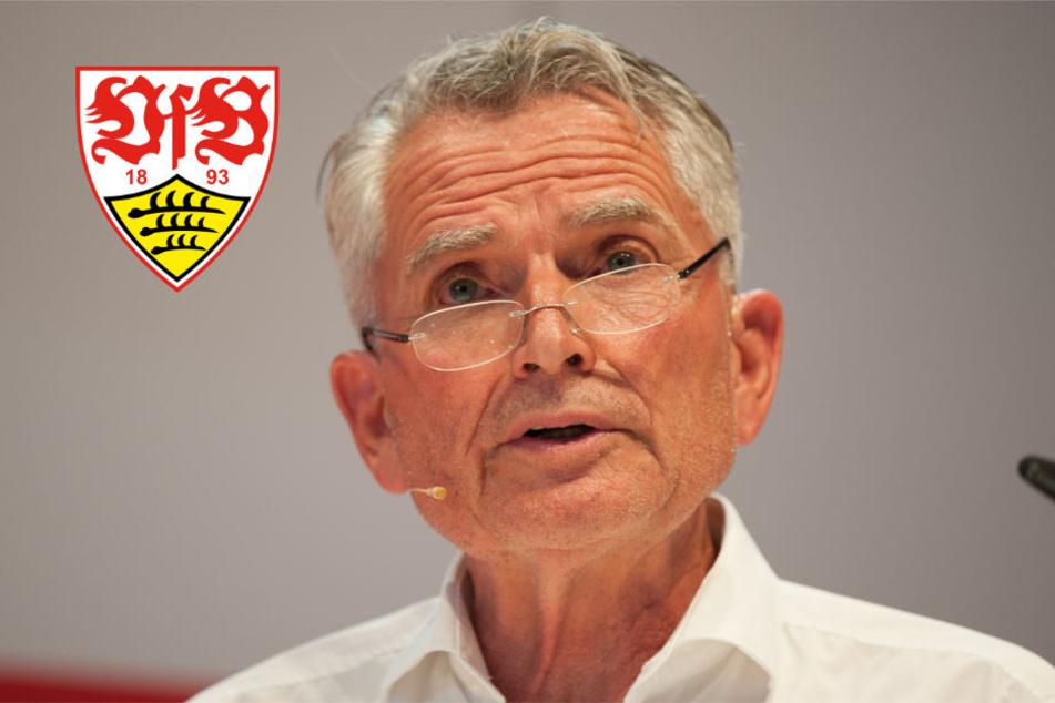 """""""Wenn ein Fonds unsere Bedingungen akzeptiert, will ich das nicht grundsätzlich ausschließen"""": VfB-Präsident Wolfgang Dietrich."""