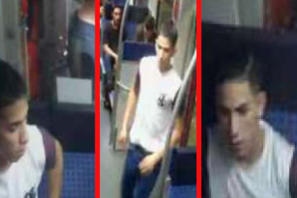 Er stach in der S-Bahn zu: Wer kennt diesen Messerstecher?