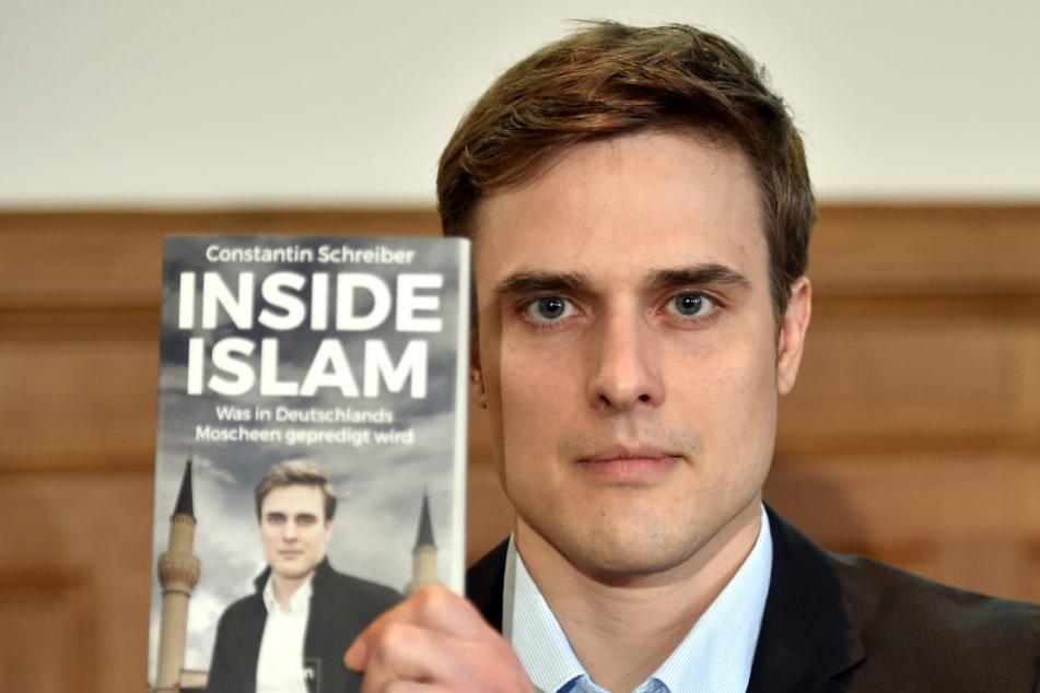 """Seit Mittwoch von null auf Platz 1: Constantin Schreibers (37) Sachbuch """"Inside Islam""""."""