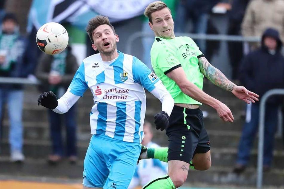 Dejan Bozic traf in Fürstenwalde zum dritten Mal in dieser Saison doppelt.