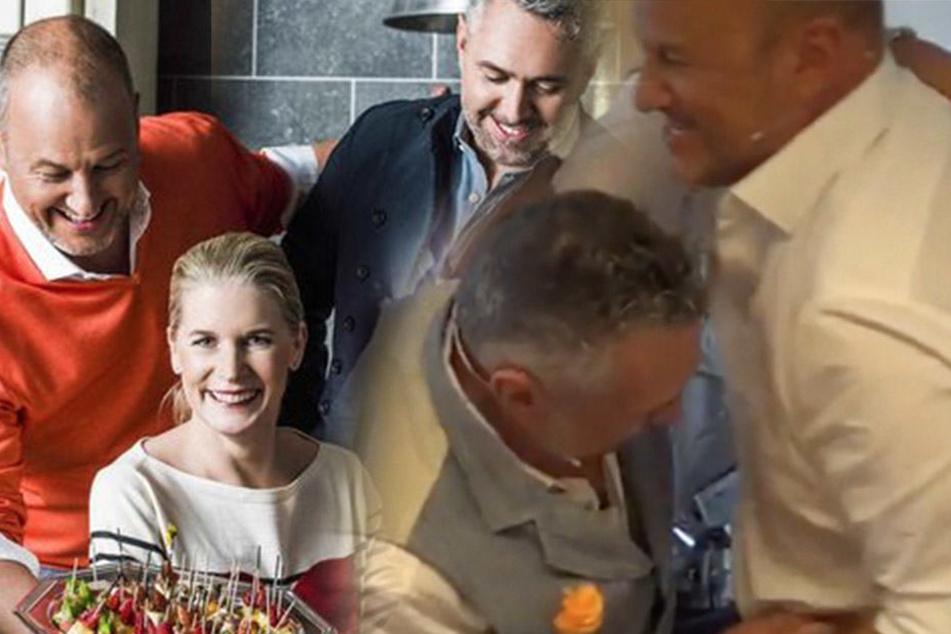 """Hinter den """"The Taste""""-Kulissen! Star-Köche prügeln sich im Backstage"""