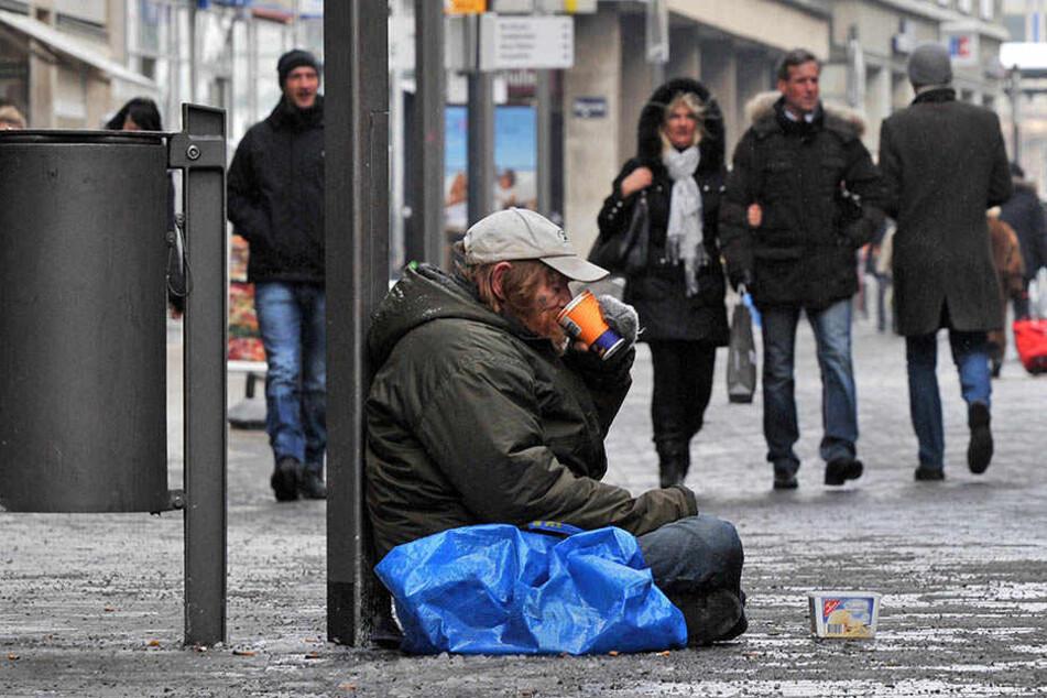 Immer mehr Menschen in Leipzig haben kein Dach über dem Kopf.