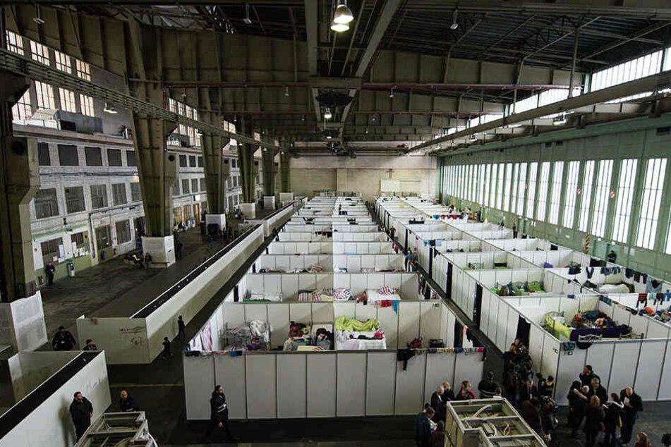 Flüchtlingsunterkunft in Tempelhof. (Symbolbild)