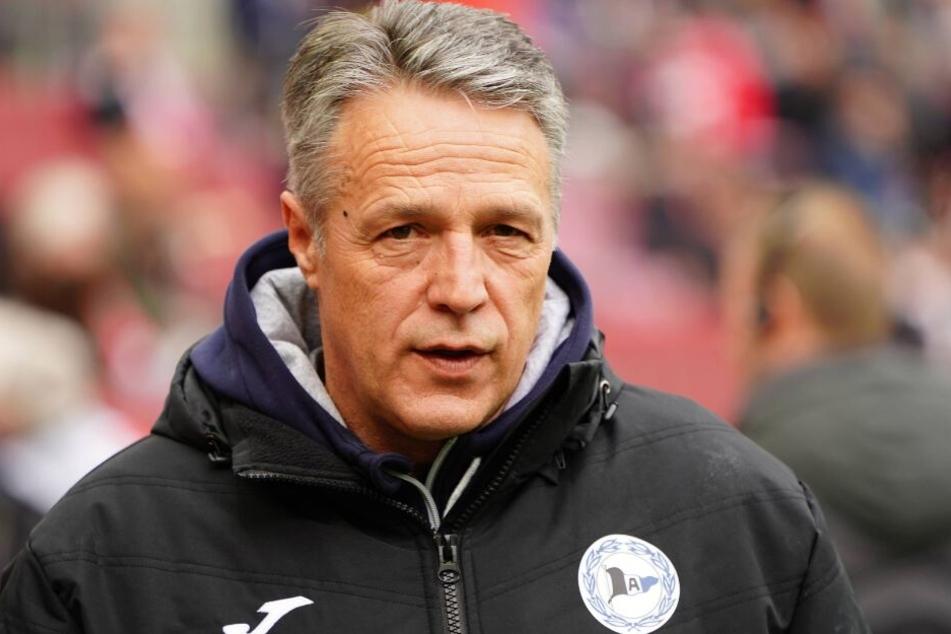 Trainer Uwe Neuhaus sieht die Stimmung seiner Jungs nicht in Gefahr.