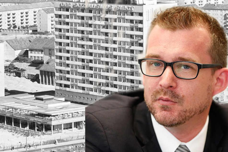 Feuergefahr! Rathaus lässt Hochhaus am Pirnaischen Platz räumen