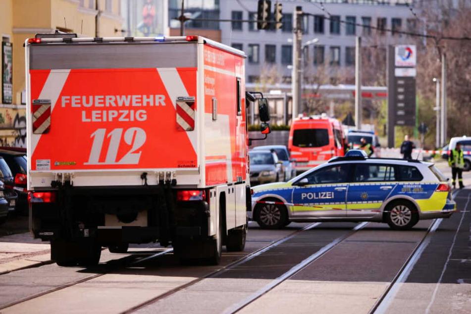 Gefahrgut entdeckt? Polizei sperrt mehrere Straßen in Leipzig