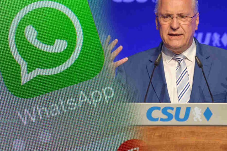 CSU will WhatsApp-Chats überwachen lassen
