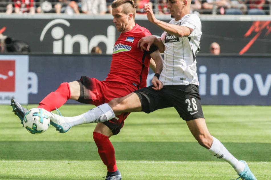Aymen Barkok feierte gegen Berlin sein Startelf-Debüt in dieser Saison.