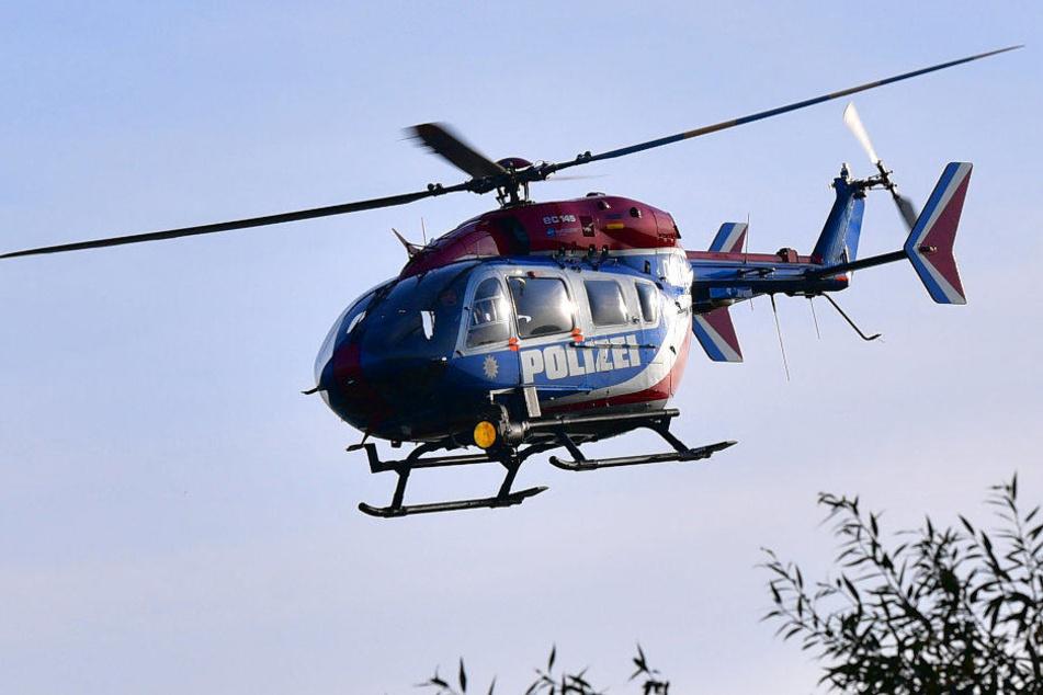 Deshalb kreiste der Polizei-Hubschrauber über Erfurt