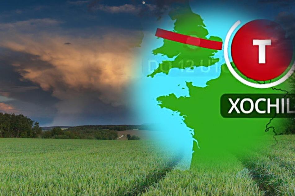 Wetter-Warnung: Tropensturm Edouard nimmt Kurs auf Deutschland