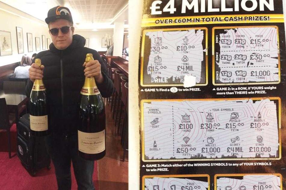 Mark Goodram (36) träumte wohl schon immer davon Millionär zu sein.