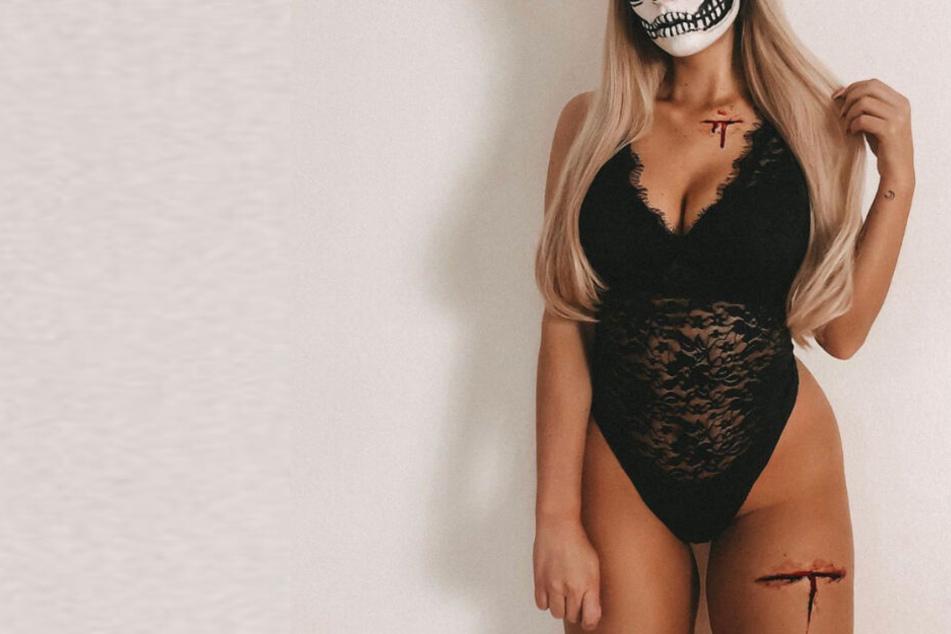Gespenstisch heiß! Instagram-Fitnessmodel verzückt mit DIY-Halloween-Kostüm