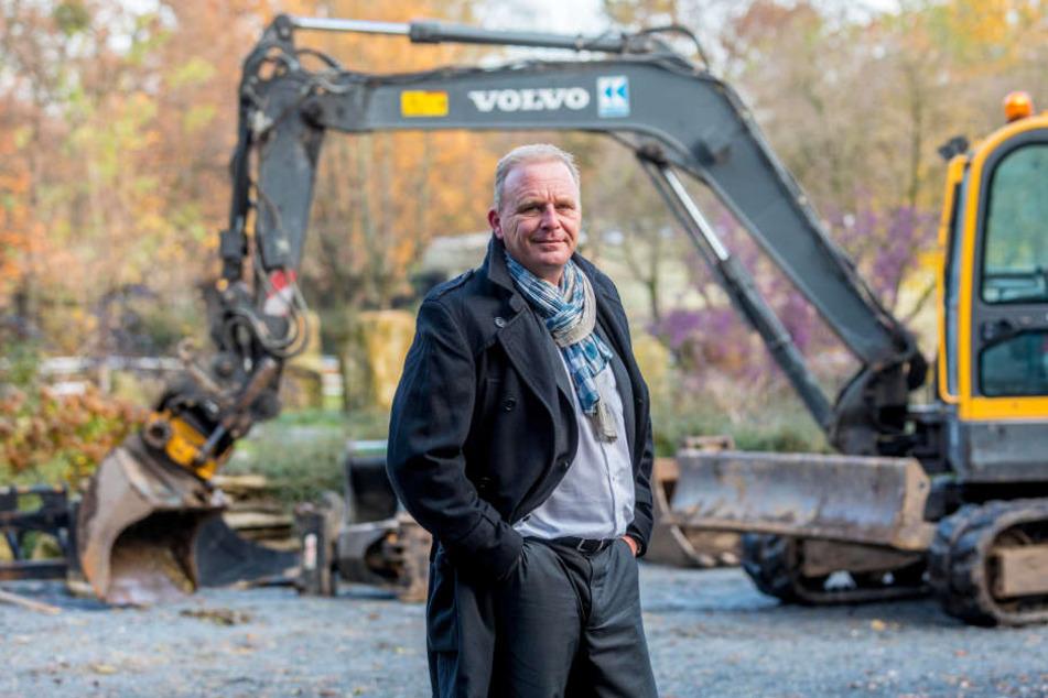 Zoochef Karl-Heinz Ukena (46)  zeigte der Morgenpost exklusiv die aktuellen Baustellen im Tiergarten.