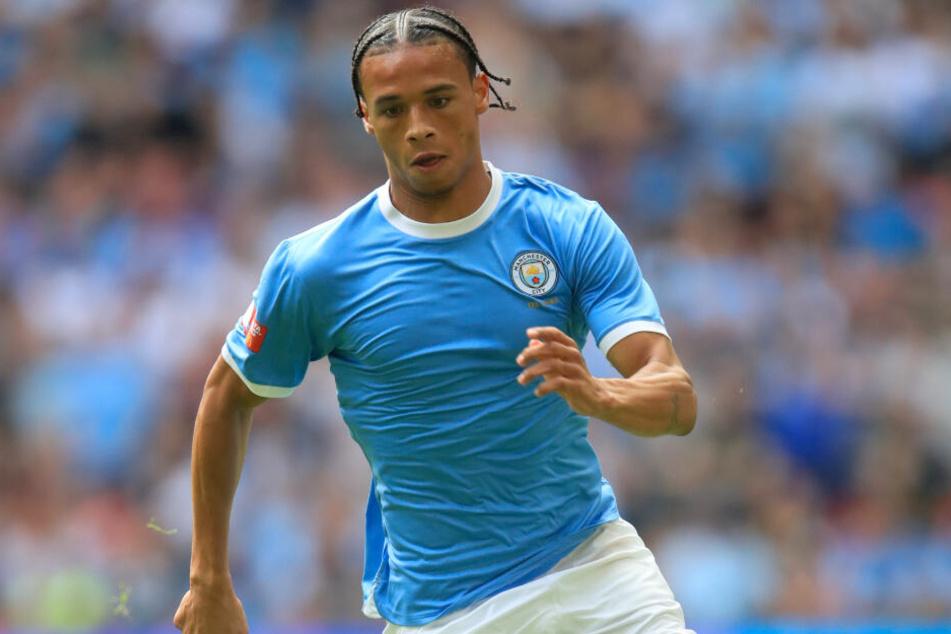 Leroy Sané (23) wechselte 2016 vom FC Schalke zu Manchester City.