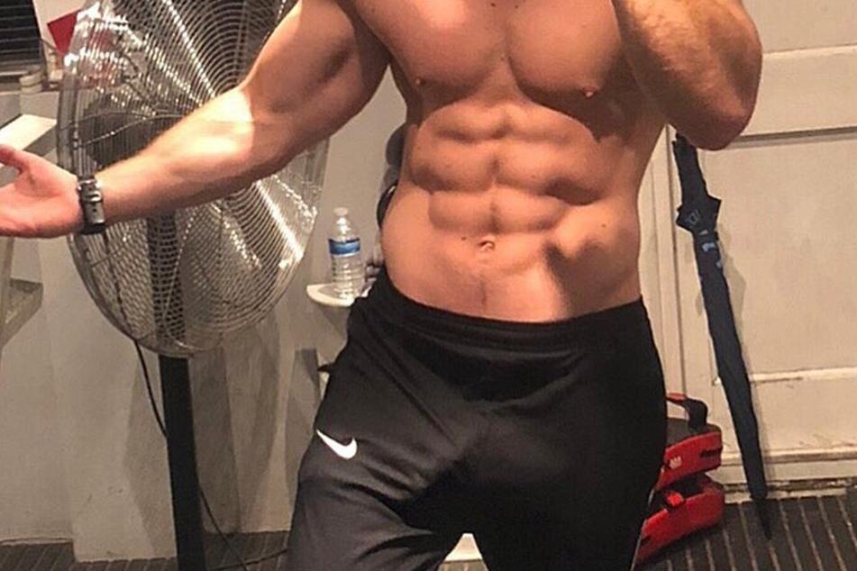 Kris Boyson (29) zeigt auf Instagram gerne was er zu bieten hat.