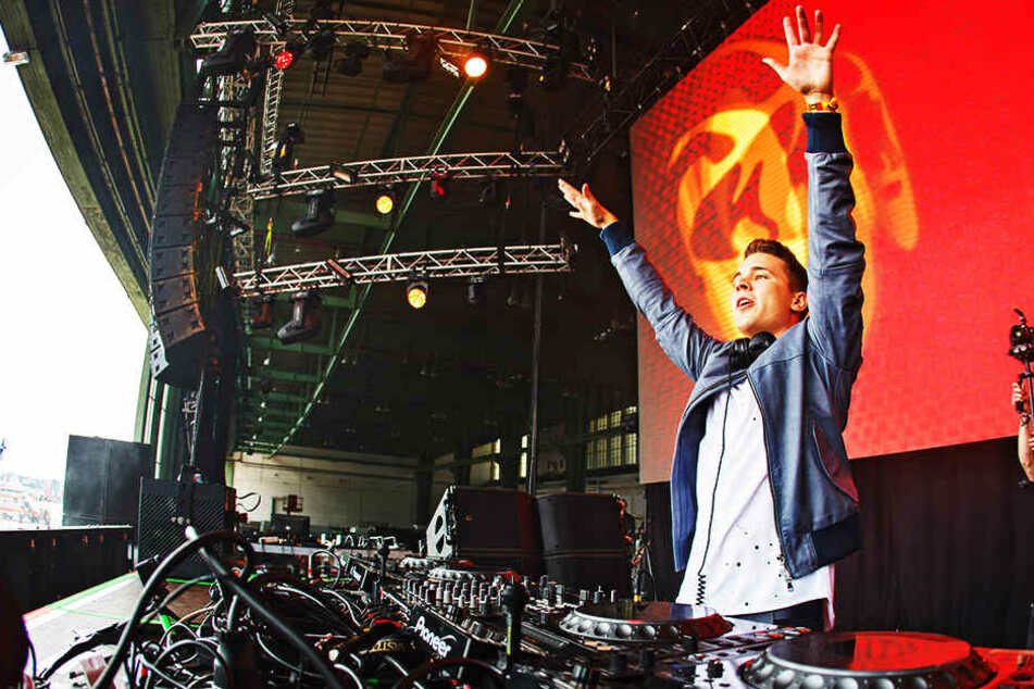 Auf Festivals sorgt der Hamburger Felix Jaehn immer wieder für überragende Stimmung bei den Fans.