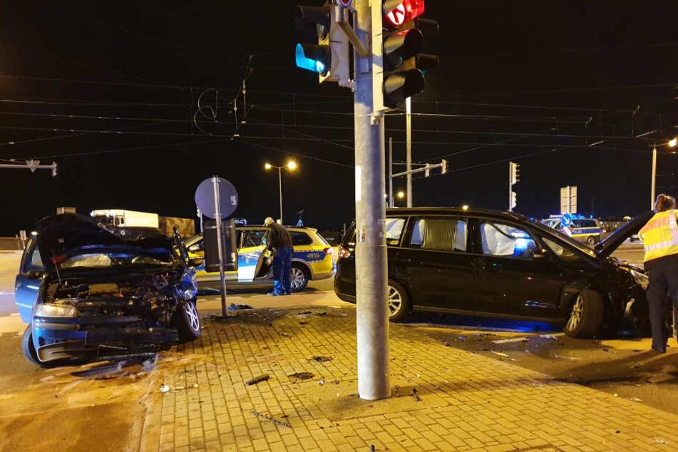 Dienstagabend war es zu einem schweren Unfall in Leipzig gekommen.