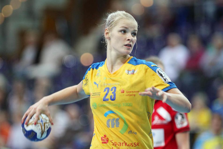 Jetzt noch im HCL-Trikot, nächste Saison für den TuS Metzingen aktiv: Shenia Minevskaja.