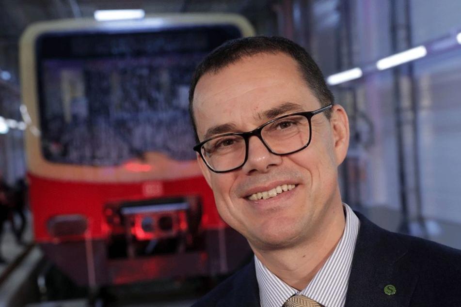 S-Bahn-Chef Peter Buchner kündigte ein Milliardenprogramm für mehr Sicherheit in den Zügen an.