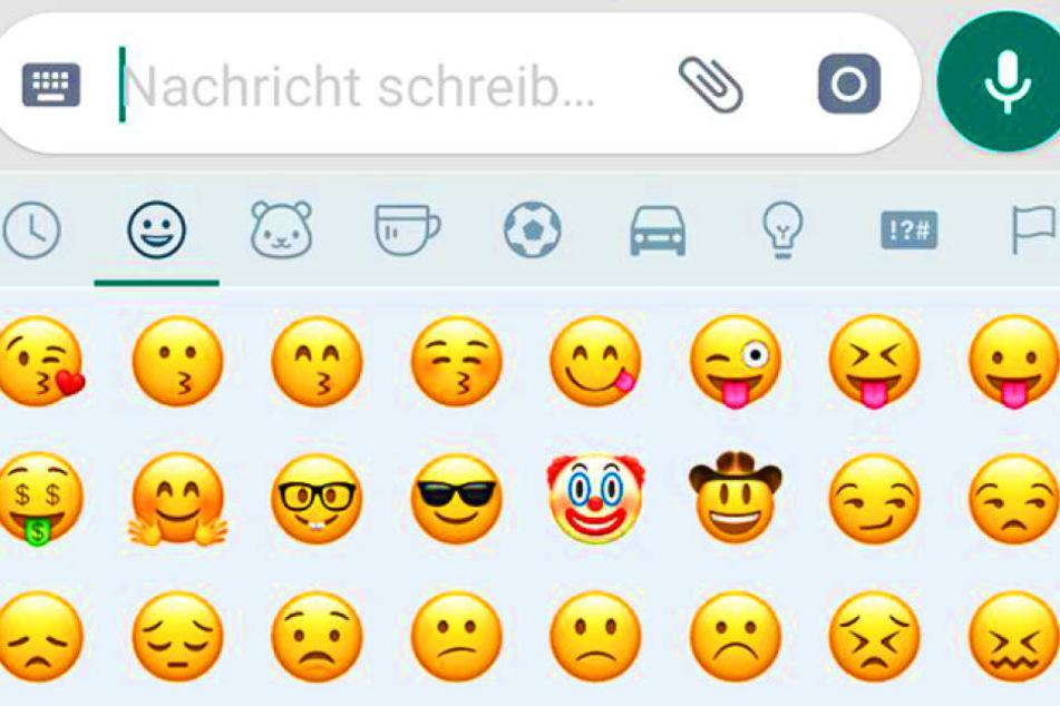 Immer die gleichen Emojis? Mit diesem neuen WhatsApp-Feature wird alles anders