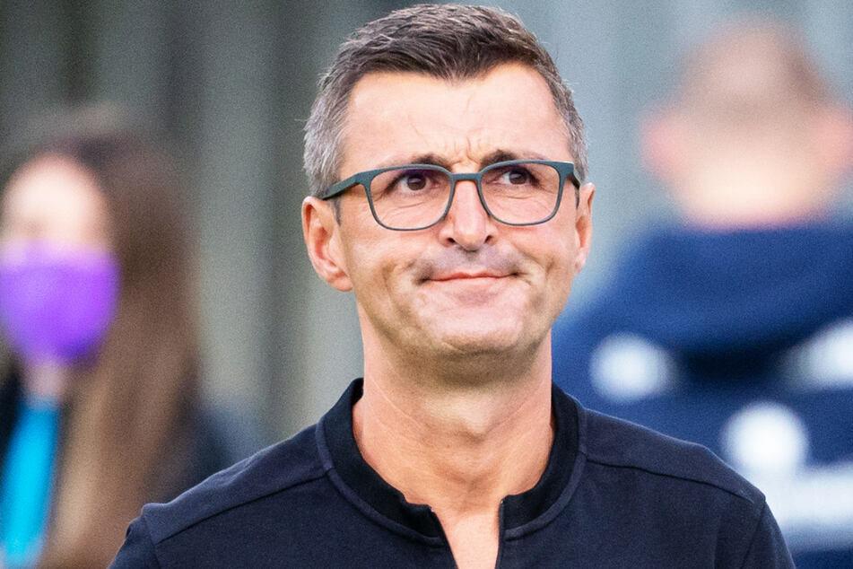 Michael Köllner (51) fordert von seinen Löwen einen Sieg gegen Zwickau.