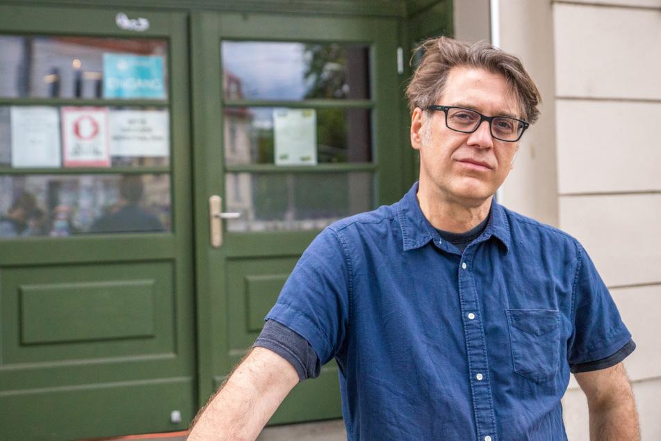 Jörg Folta, Geschäftsführer des Leipziger Felsenkellers. Das Leipziger Konzerthaus veranstaltete am Freitagabend das erste Indoor-Konzert nach Monaten der Pause.