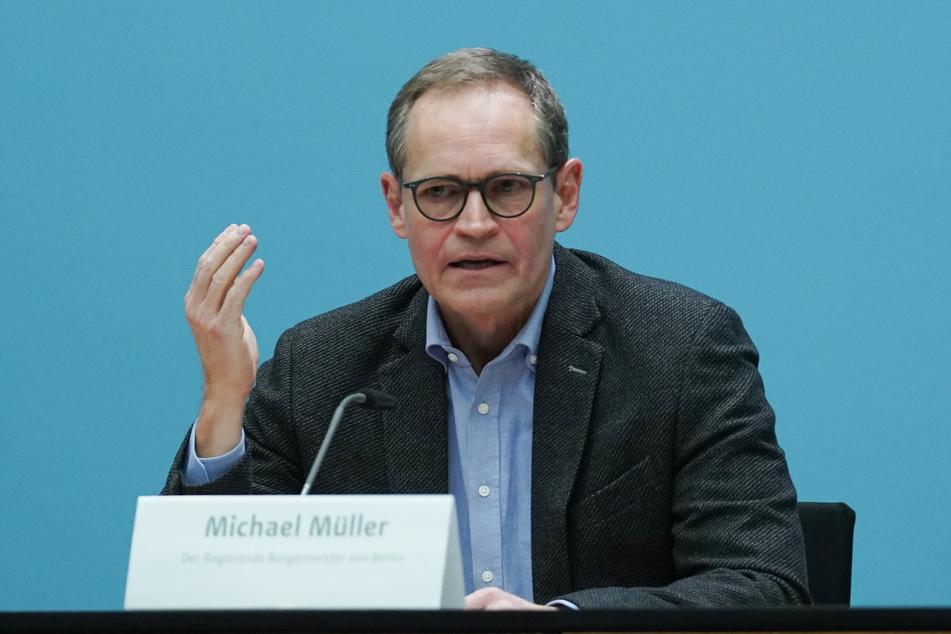 Michael Müller (56, SPD) ist nicht nur Regierender Bürgermeister von Berlin, sondern auch der Vorsitzende der Ministerpräsidentenkonferenz.