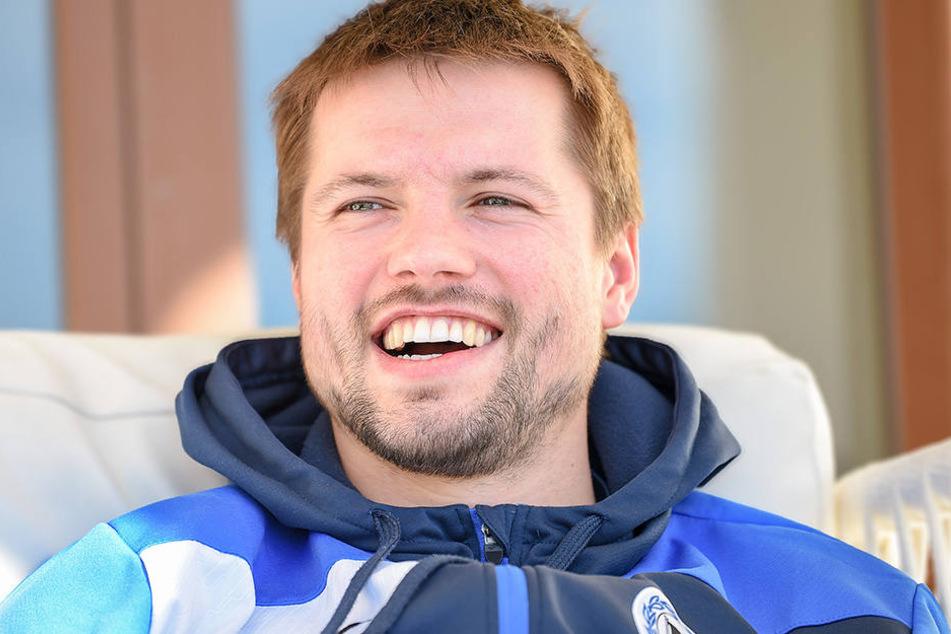 Zu Saisonbeginn übernahm Julian Börner die Kapitänsbinde von Fabian Klos.