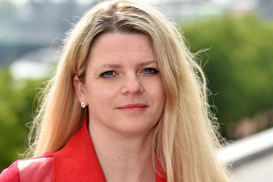 Susanne Schaper (41, Linke) fordert von der Städtischen Theater gGmbh, mehr Schwerbehinderte zu beschäftigen.