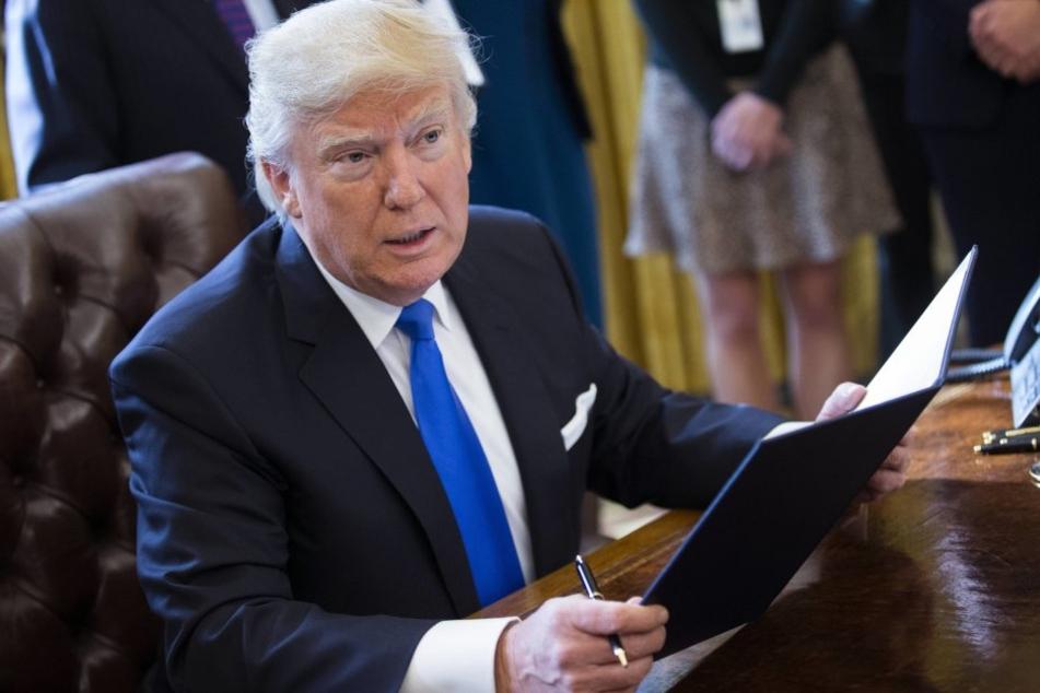 Donald Trump (70) hat einen Brief von einem syrischen Mädchen bekommen.