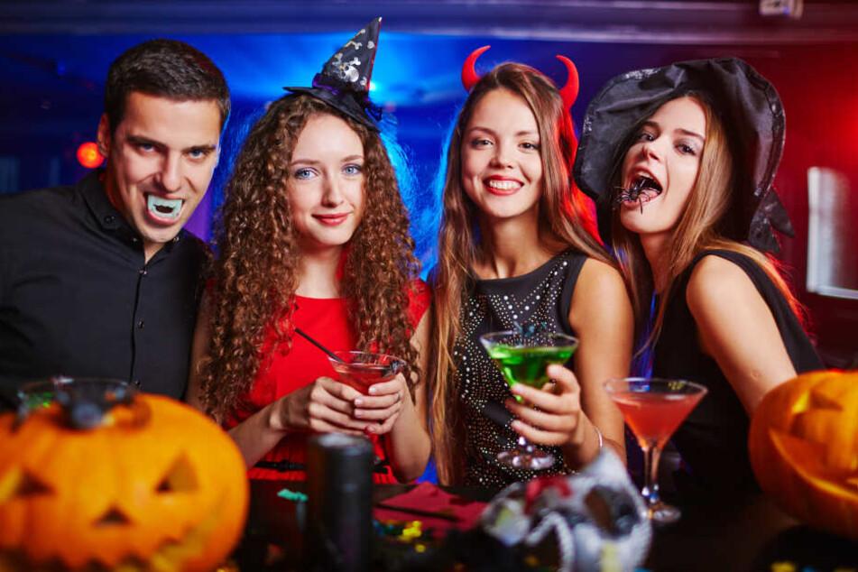 Am 30. Oktober steigen wieder zahlreiche Halloween-Partys in Leipzig.