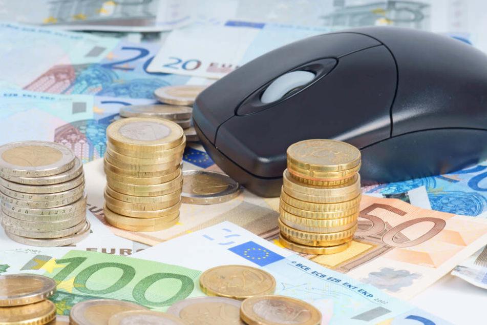 Ein Internetbetrüger aus Chemnitz hatte 25000 Euro ergaunert.
