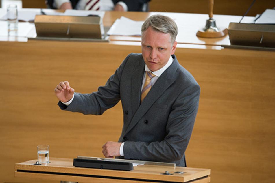 Sebastian Scheel (41, Linke) wird Staatssekretär in Berlin und gibt dafür  sein Abgeordnetenmandat auf.