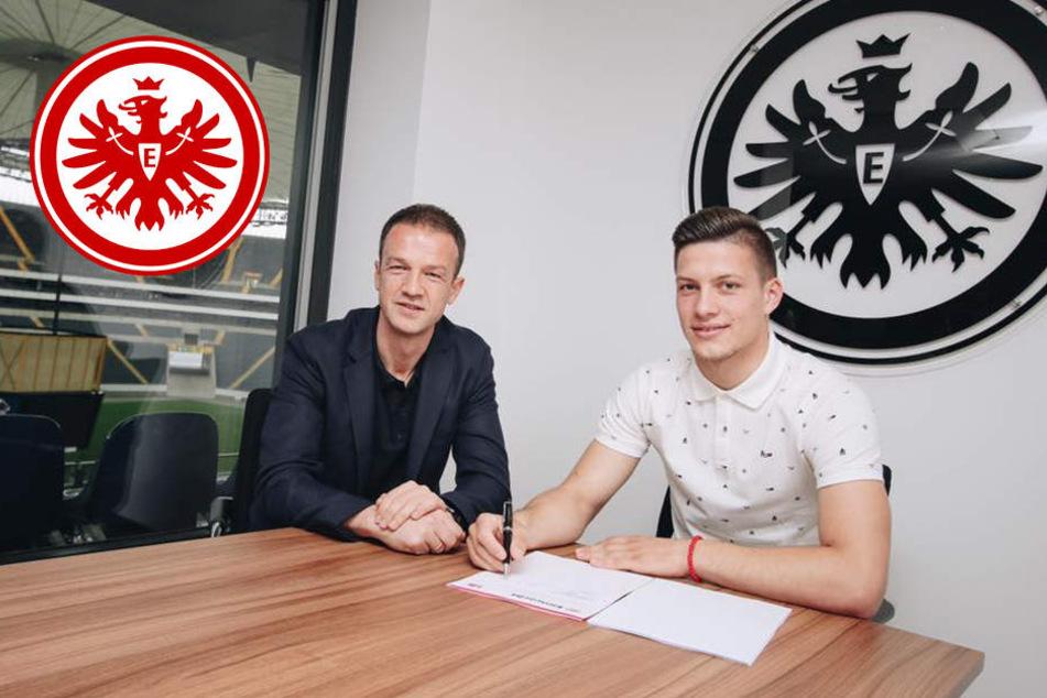 Eintracht Frankfurt leiht Offensiv-Juwel Luka Jovic