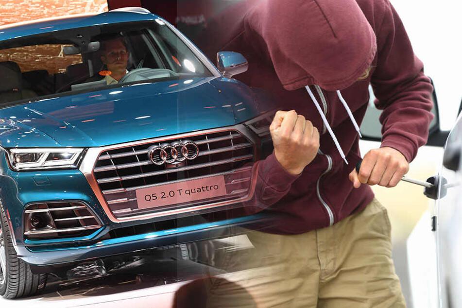 Unbekannte haben einen Audi Q5 aus einem Polizegelände gestohlen. (Symbolbild)