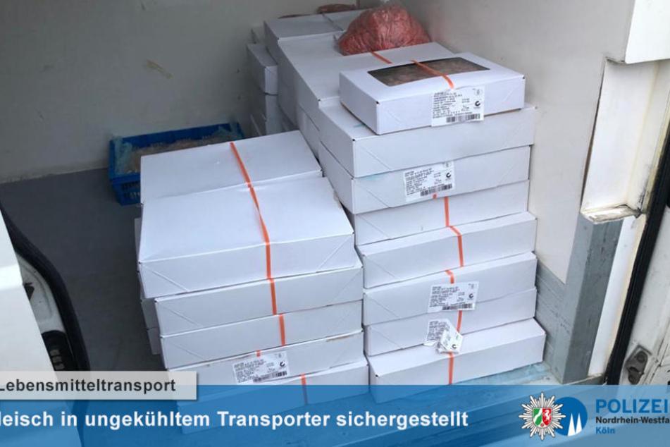 Richtiger Riecher: Kölner Polizei entdeckt 600 Kilogramm ungekühltes Fleisch