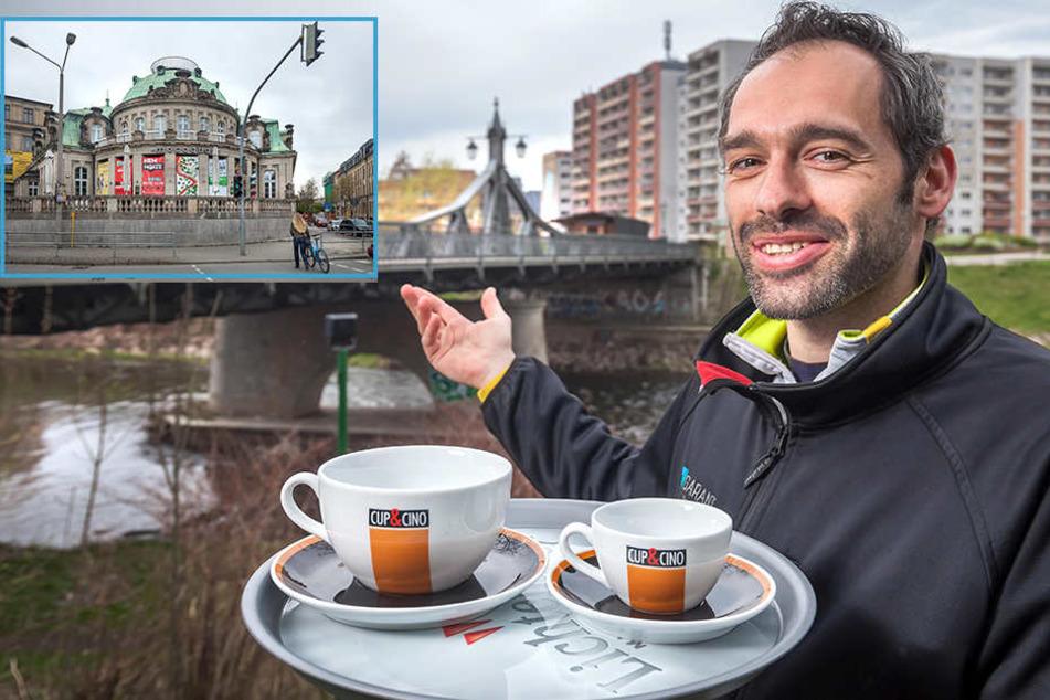 Unglaublich! Dieses Café zieht an die Paradiesbrücke