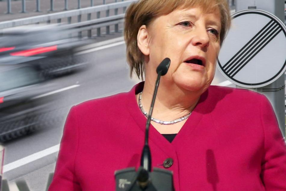 Merkel spricht Machtwort in Sachen Tempolimit
