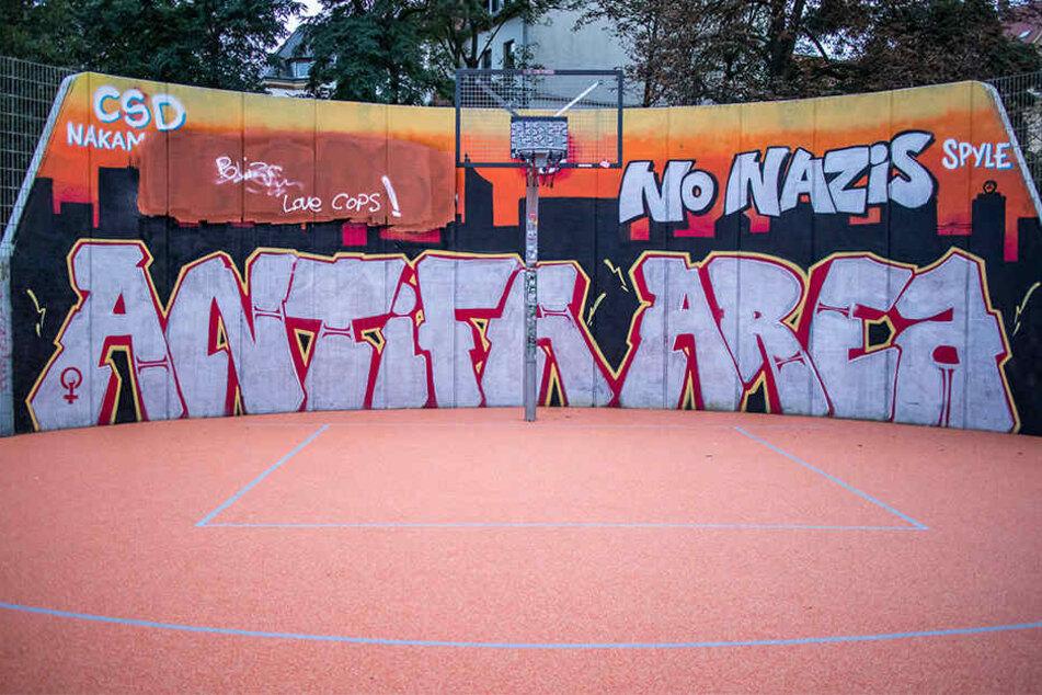 Bisher wurde das Graffito schon fünfmal entfernt.
