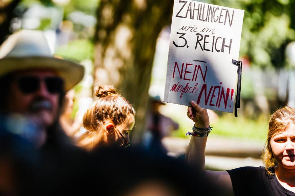 Die AfD-Frage sorgte in Stuttgart für künstlerischen Protest.