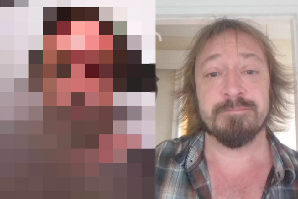 Mann ist schockiert, als er Foto sieht, das er betrunken von sich selbst schoss