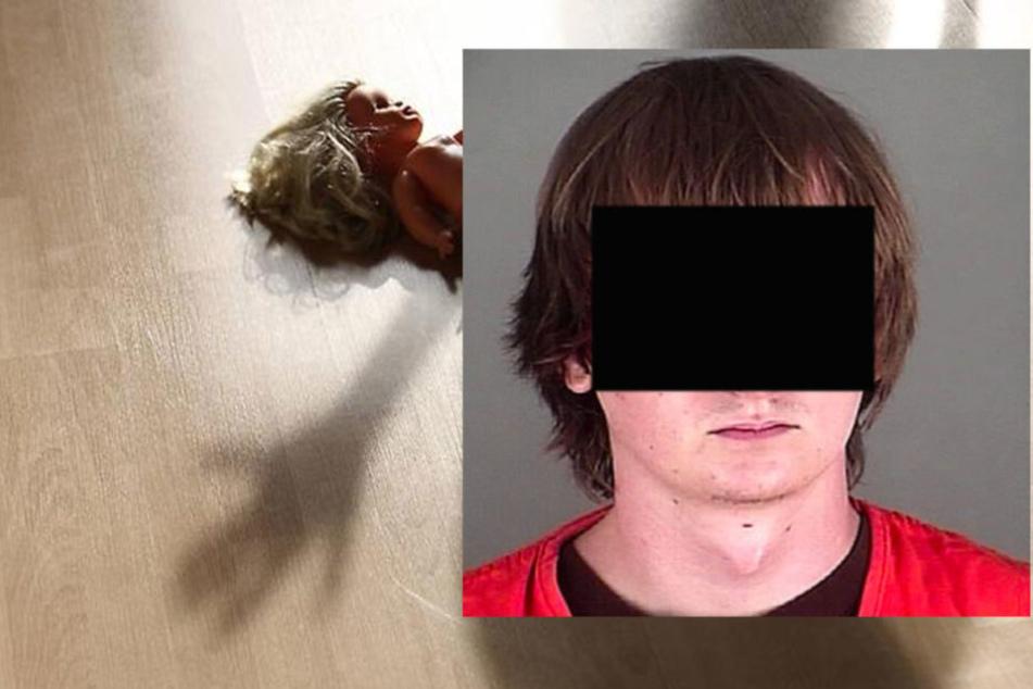Cory M. (21) hat seine Tochter mit 22 Faustschlägen getötet.