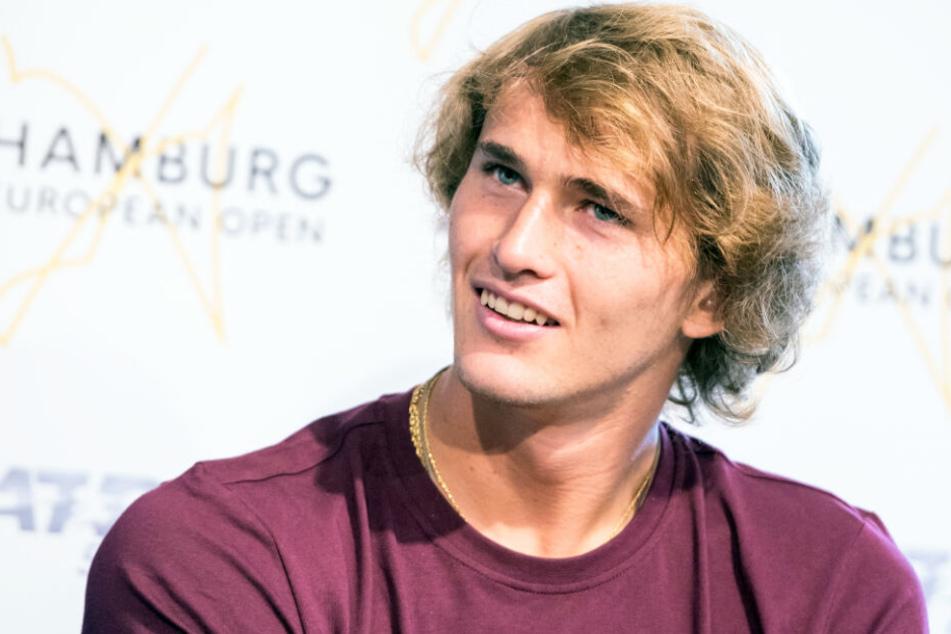 Alexander Zverev ist gerade wieder in seiner Heimatstadt Hamburg zum Tennis-Turnier am Rothenbaum.