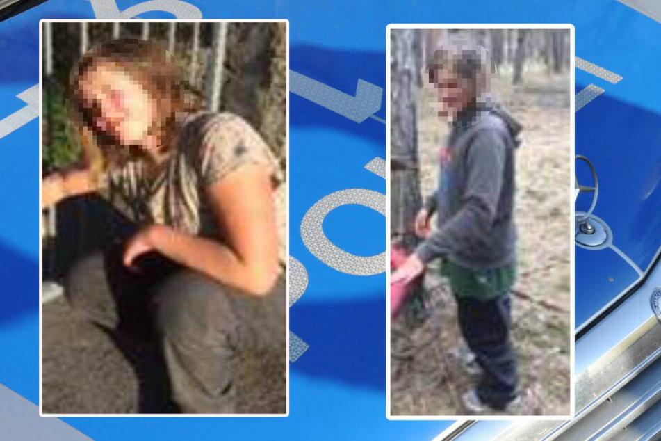 Die Polizei sucht mit Bildern nach der 11-Jährigen.