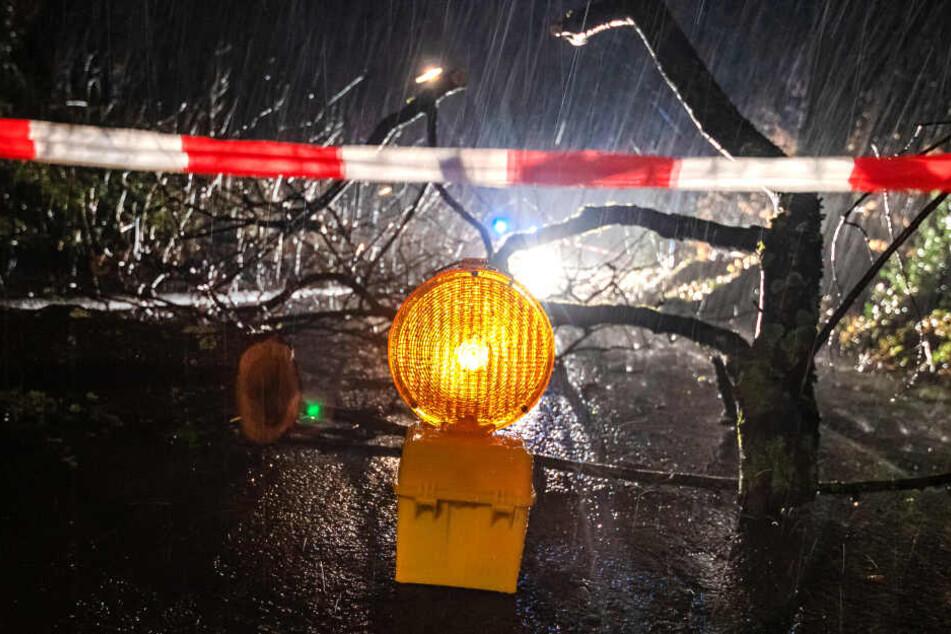 Der schwere Sturm hat in der Nacht zum Montag in Nordrhein-Westfalen offensichtlich weniger Schäden angerichtet als im Vorfeld befürchtet