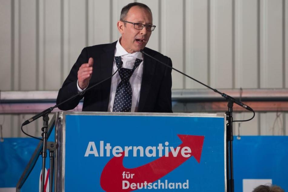 Sachsens AfD-Chef Jörg Urban (53) sendete eine Anfrage an die Messe Dresden und bekam nun Antwort.
